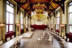 HAARLEM - Gerestaureerde zaal in Spaarne15-17. United Photos/Paul Vreeker