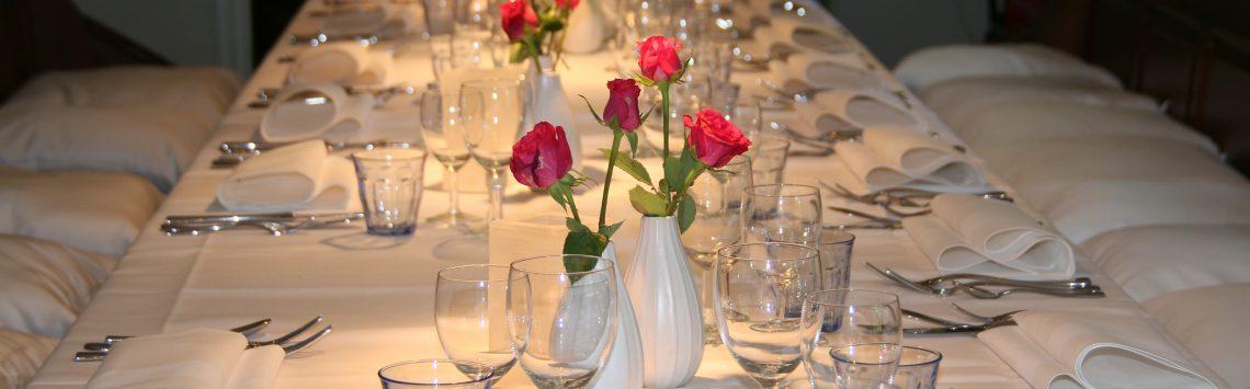 Gedekte tafel